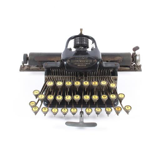 Blickensderfer typewriter, boxed