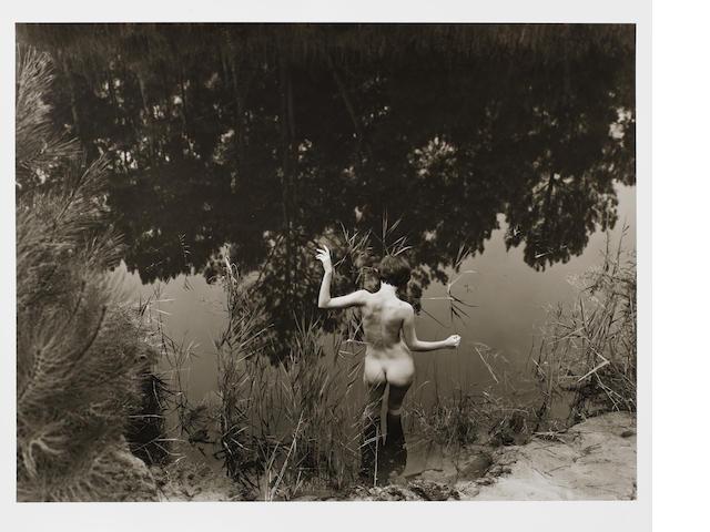 Jock Sturges (American, born 1947) Vanessa, Le Porge, France, 2002 Paper 40.4 x 50.7cm (15 7/8 x 20 in), image 36 x 47.4cm (14 1/8 x 18 5/8in).