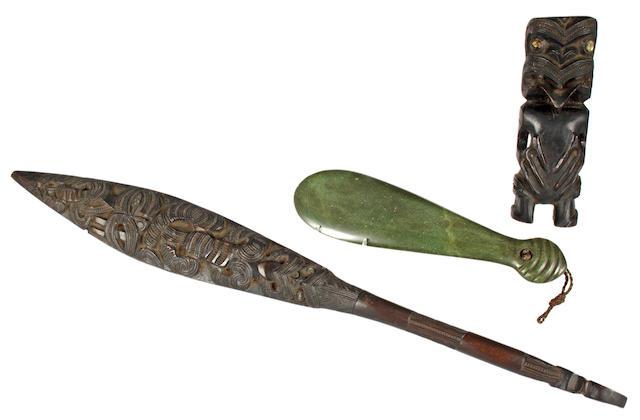 Three Maori curios 3