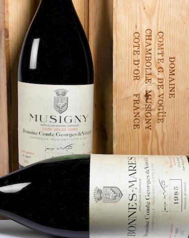Musigny Vielles Vignes 1985 (1 meth)