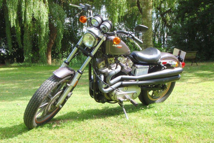 1983 Harley-Davidson XR-1000 Sportster Frame no. 1HD1CDH26DY122893 Engine no. XCDH122893X