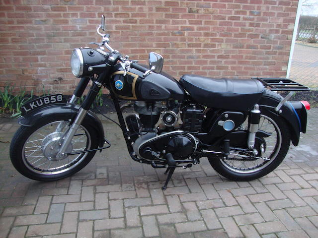 1955 AJS 348cc Model 16MS Frame no. A30277 Engine no. 25770