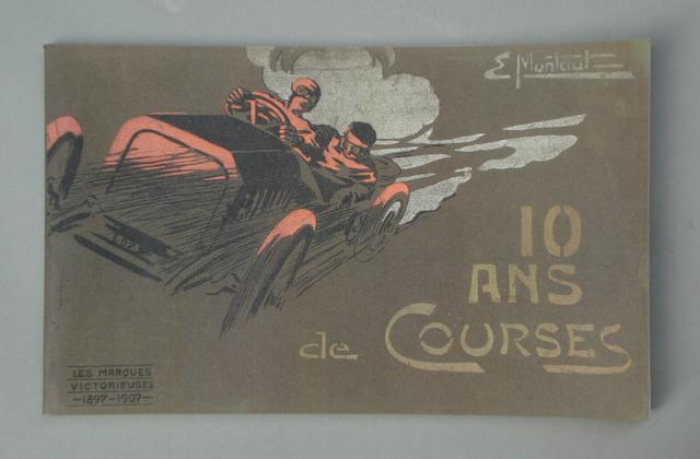 E Montaut: 10 Ans de Courses; a limited edition reprint,