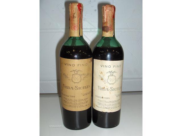 Vega Sicilia Unico 1920 (1)<BR>Vega Sicilia Unico 1922 (1)