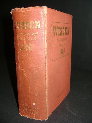 1949 Wisden cricketers almanack