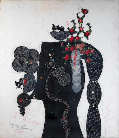 Husamettin Kocan (born 1946) Portrait,
