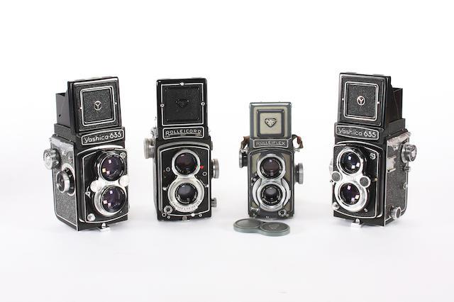 Twin Lens Reflex cameras