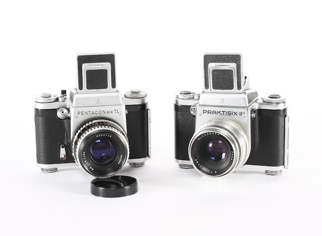 2¼inch square single lens reflex cameras