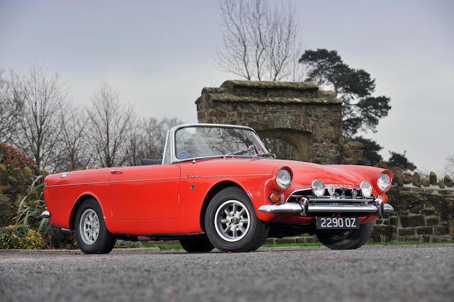 1965 Sunbeam Tiger MkI Roadster  Chassis no. B9473389HROFE Engine no. 5011F21KA