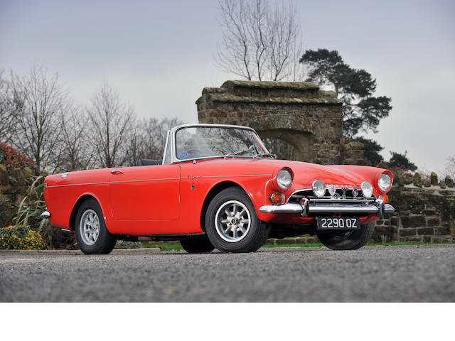 1965 Sunbeam Tiger Roadster,