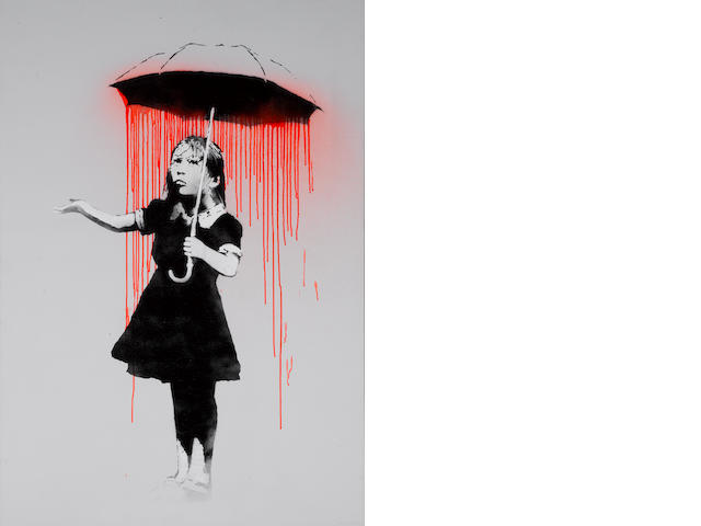 Banksy (British, born 1975) 'Nola Red', date???  2008??