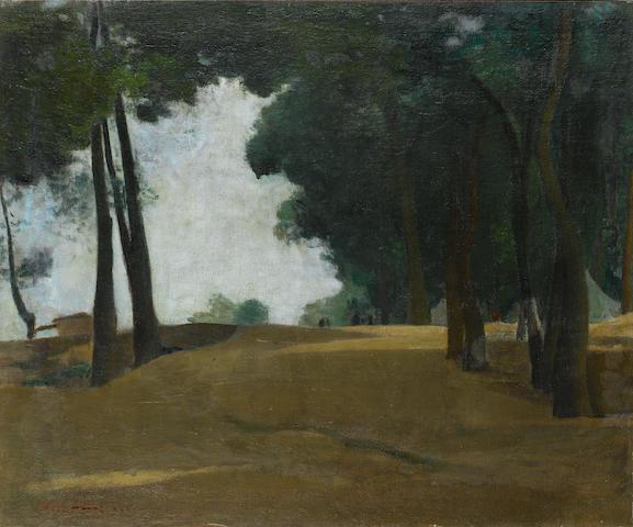 Avni Arbaş (1919-2003) Landscape,