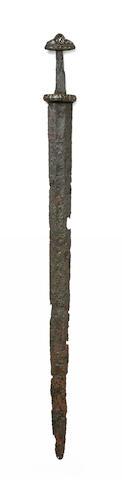 A Rare Viking Sword Of Peterson Type I And Wheeler Type III
