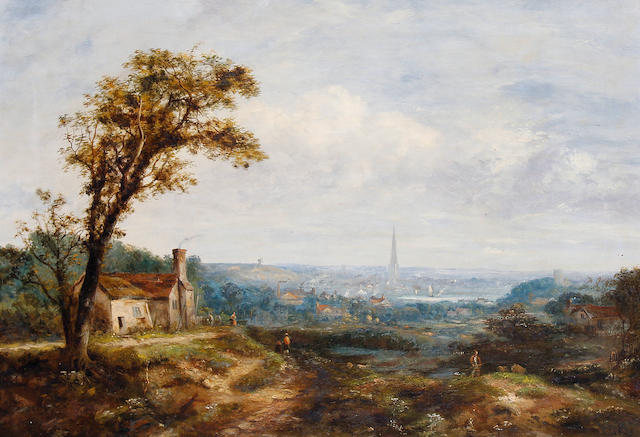 Follower of Alexander Nasmyth (Edinburgh 1758-1840) View of Norwich