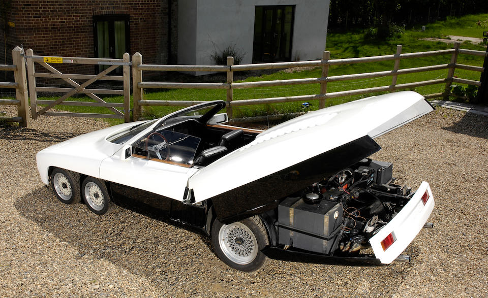 1977 Panther Six  Chassis no. XP3100