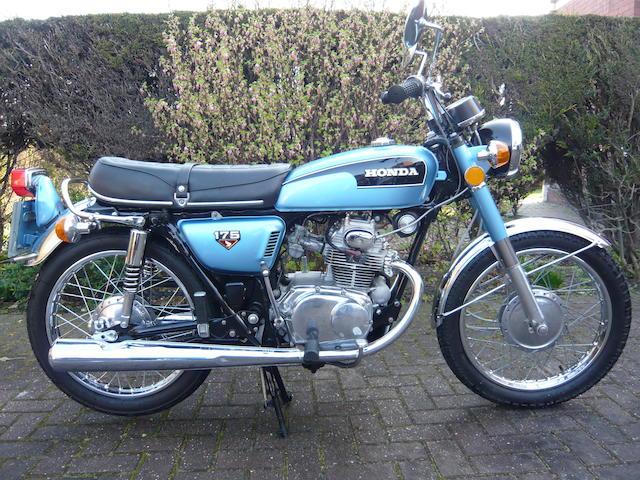1972 Honda CB175,