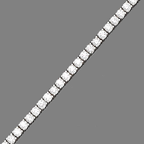 A diamond line bracelet,  by De Beers