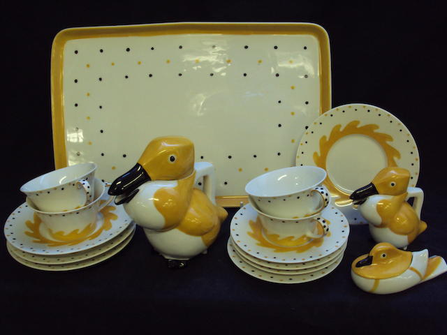 A Haviland, Limoges tea service