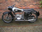 1957 Douglas 348cc Dragonfly Frame no. 1446-6 Engine no. 1446/6