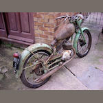 1957 Royal Enfield 148cc Ensign Frame no. 49455 Engine no. 515