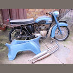 1959 Triumph 349cc 3TA Frame no. 3TA H11145 Engine no. 3TA H13986
