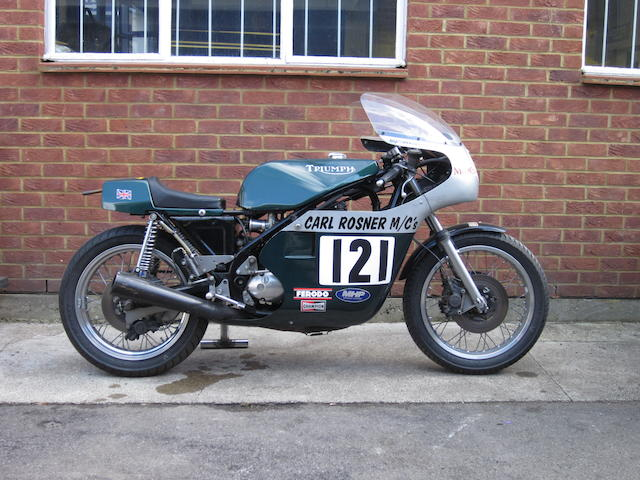 The property of Carl Rosner,c.1990 Triumph Trident 'Rob North' Formula 750 Racing Motorcycle Engine no. T150V GG03006