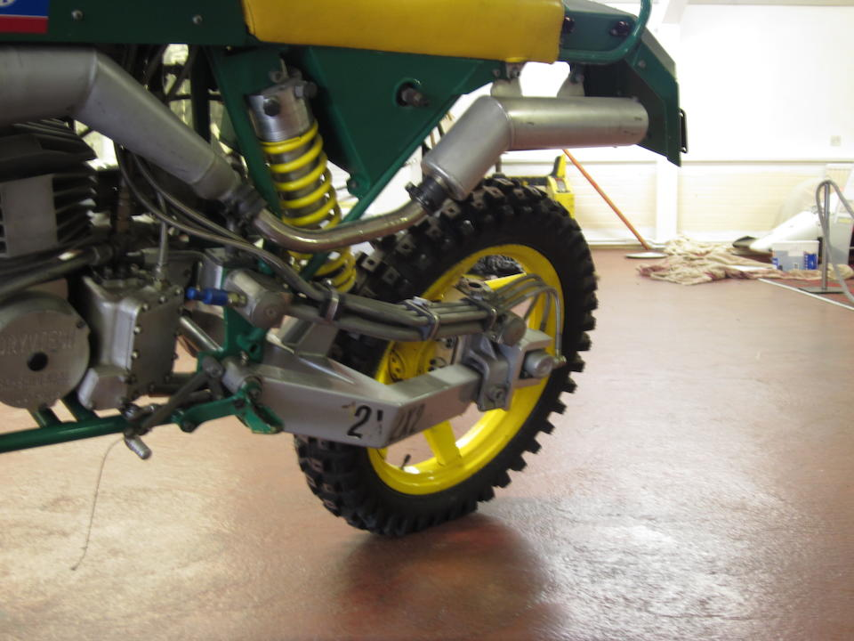 1990 Drysdale 'Dryvtech 2x2x2' Experimental Two-Wheel-Drive Motorcycle Engine no. DT3-001
