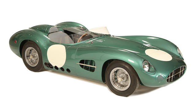 An Aston Martin DBR1 childs car,