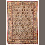 A Kirman rug, South East Persia, circa 1910, 198cm x 140cm (6ft 6in x 4ft 7in) excellent condition