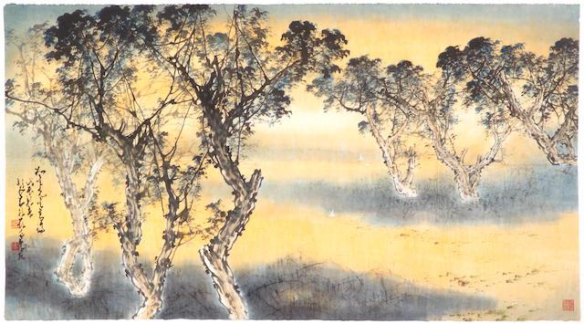 Zhao Shao'ang (Chao Shao'ang, 1905-1998) Landscape