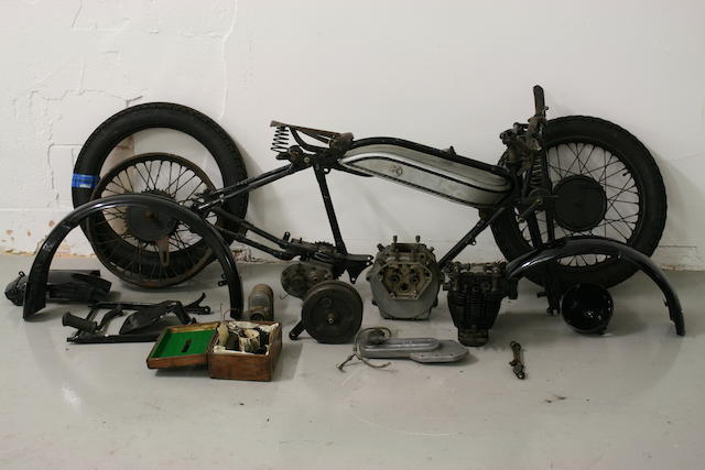 1928 Norton 490cc Model 18 Project Frame no. 29074 Engine no. 36093
