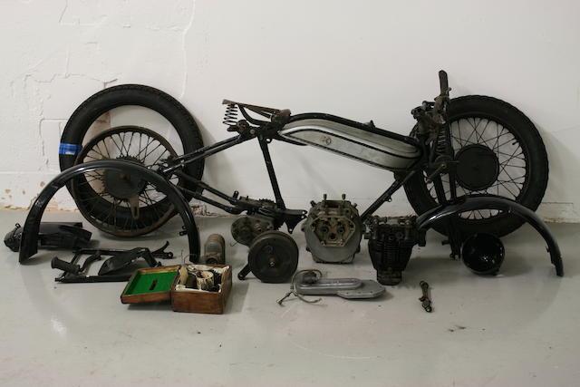 1928 Norton 490cc Model 18 Project Frame no. 29074 Engine no. 36093