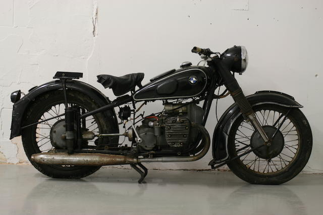 1938 BMW 750cc R71 Frame no. 506434 Engine no. 720130