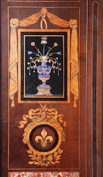 A Pietre dure and marquetry secretaire by A.Beurdeley