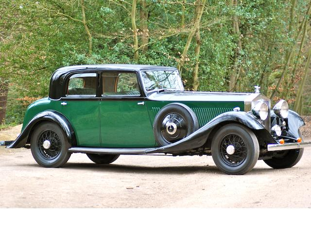 1933 Rolls-Royce Phantom II Continental Sports Saloon