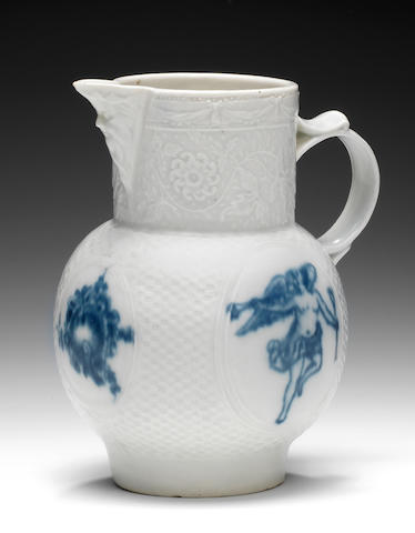 Caughley Gallimore Turner Salopian jug, ex Watney