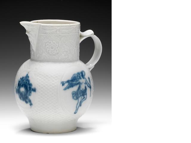 Caughley Gallimore Turner Salopian jug, ex Watney