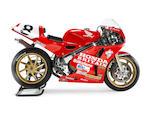 The ex-Honda Britain, Carl Fogarty, Isle of Man Formula 1 and Senior TT-winning,1989 Honda 750cc RC30 Racing Motorcycle Frame no. 2100081