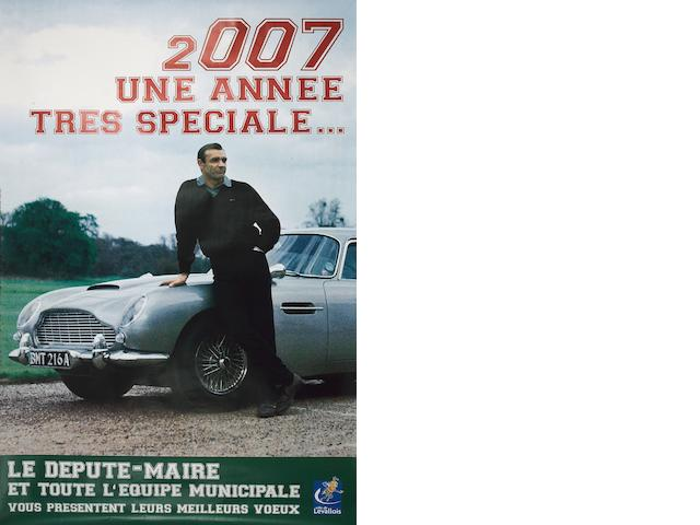 A large format James Bond 007 'billboard' marketing poster,