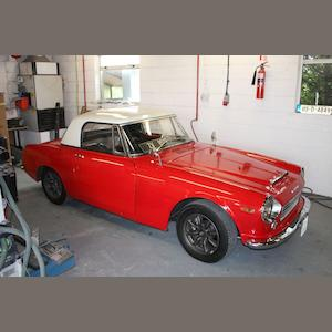 1966 Datsun Fairlady 1600 Roadster  Chassis no. to be advised Engine no. to be advised