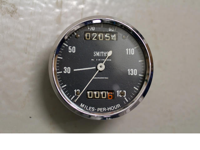 An unusual Smiths 150 mph chronometric speedometer, (1)