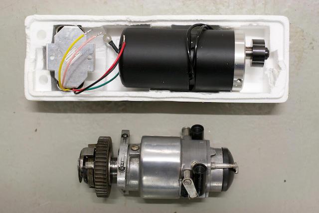 A Luca KVF magneto and Alton generator, (3)