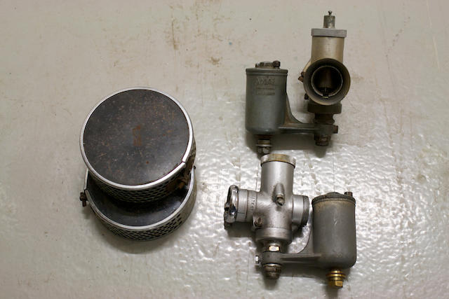 A pair of Amal 229 carburettors, (2)