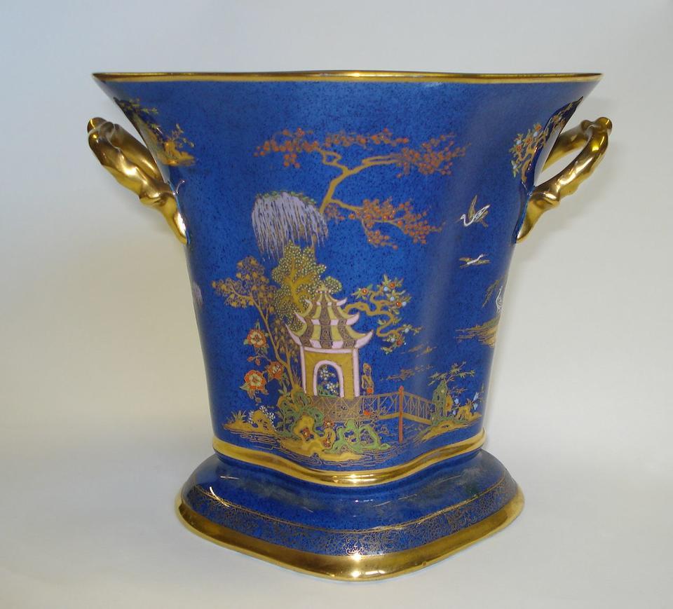 A pair of Carlton Ware 'Persian' vases, and a 'New Mikado' vase 3