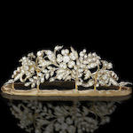 A 19th century diamond tiara,