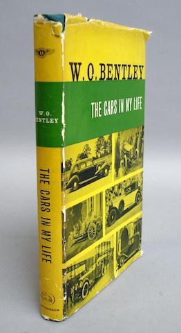 A signed copy of W O Bentley: The Cars in My Life;