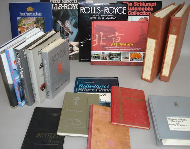 Rolls-Royce books and literature,
