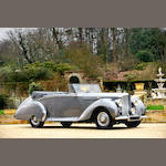 1949 Bentley MkVI 4¼-Litre Drophead Coupé  Chassis no. B486EY Engine no. B243E