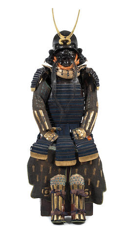 A tachi do tosei gusoku armour Edo Period, 18th/19th century