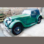1936 BSA 9hp Scout Series 2 Tourer  Chassis no. 722 Engine no. 1058